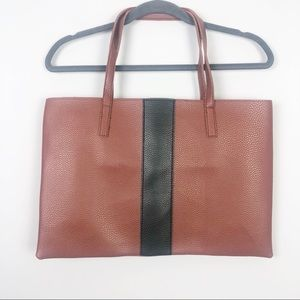 Vince Camuto   Brown and Black Tote Bag